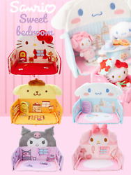 ❤ Japan Sanrio Store Limited Mini Sweet Bedroom Characters Display Plush Toy ❤