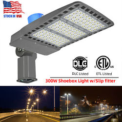 Led Street Light 300w Commercial Outdoor Ip65 Area Security Road Lamp 39000lm