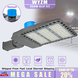 300w Commercial Led Street Light Security Lighting Garden Yard Road Lamp Outdoor