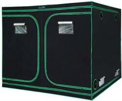 Quictent 96x96x78 Grow Tent Heavy Duty 8and039x8and039 Mylar Hydroponic Non Toxic Box