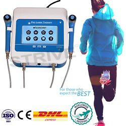 Low Level Laser Therapy Red And Ir 2 Probes Touch Screen Display Laser Machine