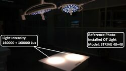 Ceiling Mounted Surgical Examination Led Light Cold Light For Operation Theater