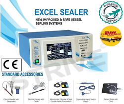 Surgical 400w Electrosurgical Sealer Generator Touch Screen With Sealing Option