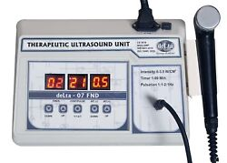 Ultrasound Personal Use Pain Relief Frequency 1 Mhz Cont.and Pulse Equipment Coi