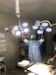 Surgical Examination Light Surgical Ot Light Operating Lamp 48+48 Led Ceiling