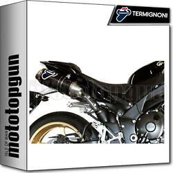 Termignoni Full System Exhaust Oval Carbon Racing Yamaha R1 2011 11