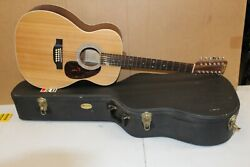 Martin Custom Model 12 String Acoustic Guitar With Hard Shell Case 8 Of 200