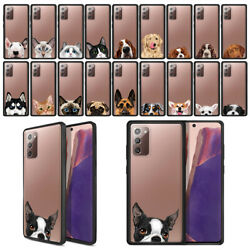 For Samsung Galaxy Note 20 6.7quot; 2020 Hybrid Clear Back Case TPU Bumper Cover