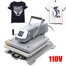 16x20 Heat Press Machine Diy T-shirt Sublimation Digital High Pressure Transfe