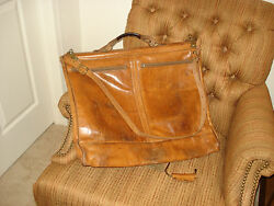 Hartmann Belting Leather 38 Inches Carry On Overnight Garment Bag
