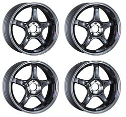 Ssr Gt X03 17x7.0 5x100 +53 +48 +42 Machined Graphite Gm From Japan 4 Rims