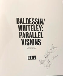 Baldessin Whiteley Parallel Visions - Signed Book. Catalog Exhibition. Ngv
