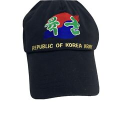 Rok Republic Of Korea Army Patch Korean Hat Embroidered Nice Hard To Find