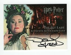 Harry Potter Prisoner Of Azkaban Update Auto Card - Dawn French As The Fat Lady