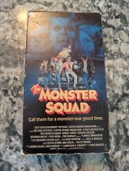 The Monster Squad Vhs Horror Cult Classic 1987 Vestron Video