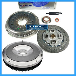 Exedy Clutch Kit And Ufc Aluminum Flywheel For 87-92 Toyota Supra Turbo 3.0l 7mgte