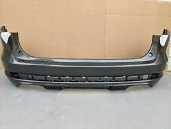 Oem 2020-2021 Lincoln Aviator Rear Bumper Cover W Lower Valance Magnetic Grey J7