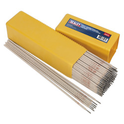Wess5025 Sealey Welding Electrodes Stainless Steel Ø2.5 X 350mm 5kg Pack