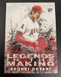 Shohei Ohtani Topps Legends In The Making Rookie Card Rc21 Psa 9/10