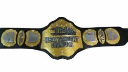 Tna Wrestling Heavyweight Championship Belts A Grade Leather Metal Plates Adults