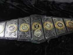Lucha Underground God Of Gift Champions Belts Leather A Grade Metal Plates Adult