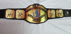 Intercontinental Heavyweight Wrestling Champions Belts Leather A Grade Adult