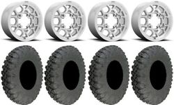 Kmc Mesa Lite 15 Wheels Machined 32 Race Tires Can-am Defender
