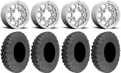 Kmc Mesa Lite 15 Wheels Machined 33 Race Soft Tires Can-am Defender