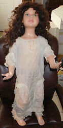 Rare Vintage Composite Store Mannequin 36 Tall Toddler Girl W/ Removable Parts