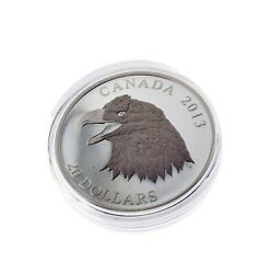 2013 20 Dollar The Bald Eagle Portrait Of Power - Pure Silver Coin