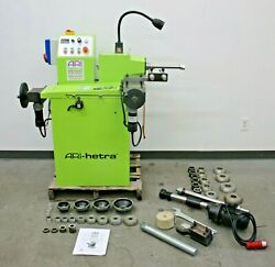 New Ari-hetra Heavy Duty Disc And Drum Brake Lathe W/ Grinder And Adapter Kit Comec