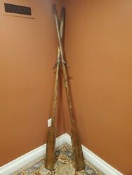 Vintage Row Boat Oars 83 Inches Long