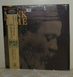 Thelonious Monk Music In Monk Time Japanese Laserdisc [78lm 22] Jazz In Shrink