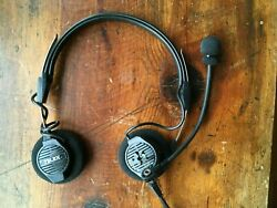 Telex Airman 750 Pilot Headset With Boom Mic - Needs Repaired - See Detailsandnbsp