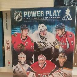 Nhl Power Play Team-building Board Card Game Jeu English/french New Sealed