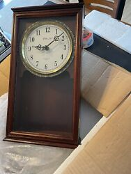 New In Box Vintage Antique Clock Wall Pendulum Chime Westminster Ltd