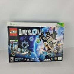 Lego Dimensions Starter Pack Xbox360 Batman Gandalf And Wyldstyle 71173 New
