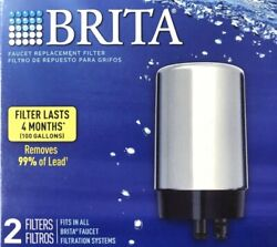 New 2 Brita Faucet Replacement Filters Lasts 4 Months