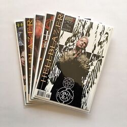 Nm/nm+ Complete Hellblazer 'staring At The Wall' Iss 189-193 Feat Swamp Thing