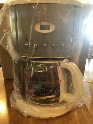 Gevalia Kaffe G75 White 12-cup Programmable Cm500 Automatic Coffee Makernew
