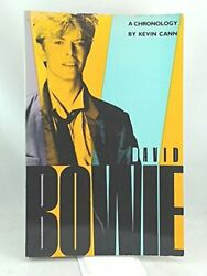 David Bowie A Chronology By Kevin Cann Excellent Condition