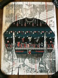 Castlevania Video Game Ugly Christmas Sweater Poster Only 80 Made Mondo Sdcc
