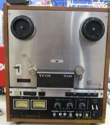 Victor Td-2380 Reel-to-reel Tape Recorders Power Supply Voltage 100v
