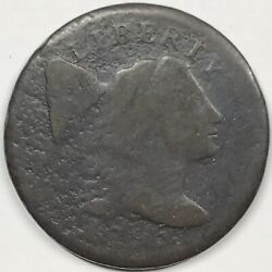 1795 Flowing Hair Liberty Cap Large Cent - Vg