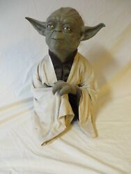 Rare 2007 Star Wars 11 Yoda Sideshow Collectibles Life Size Bust 351 Of 1000