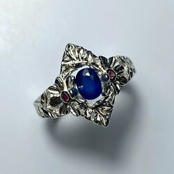 0.35ct Natural Afghanite Silver Gold Platinum Engagement Ring All Sizes