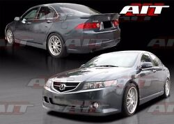 2004-2005 Acura Tsx Ks Style Full Body Kit Ait Racing Orginal Product 4pc Kit