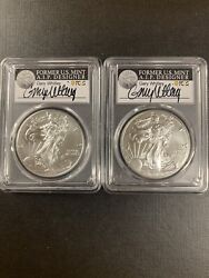 2020pands Pcgs Ms70 Emergency Issue - 2 Coins Silver Set