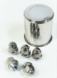 Trailer Wheel Lug And Cap Set. Stainless Steel Hub Cover 5 Ss Lugs 3.19in Center