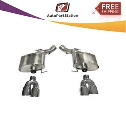 14934 Corsa 304 Ss Axle-back Exhaust System Quad Rear Exit For Bmw M5 13-16